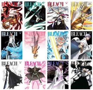 BLEACHのアニメ(DVD)は全76巻(枚)