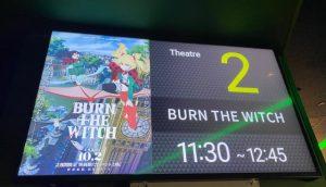 劇場版BURN THE WITCHの評判/口コミ