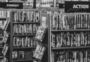 DVD/Blu-rayをレンタルしてアニメを見る