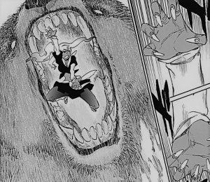 八番隊副隊長 八々原熊如は地獄と極楽の対比を象徴